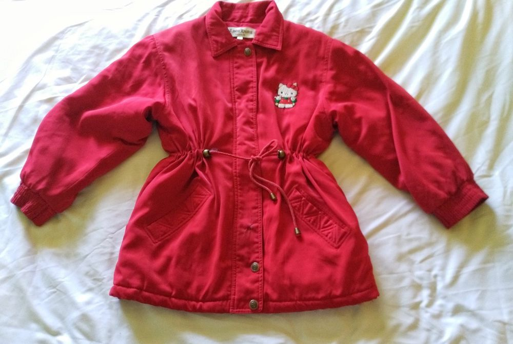 5e607113c Luen Hing Fashion 90's Red Hello Kitty Winter Snow Puffer Jacket Size 6  Vintage #fashion #clothing #shoes #accessories #womensclothing  #coatsjacketsvests ...