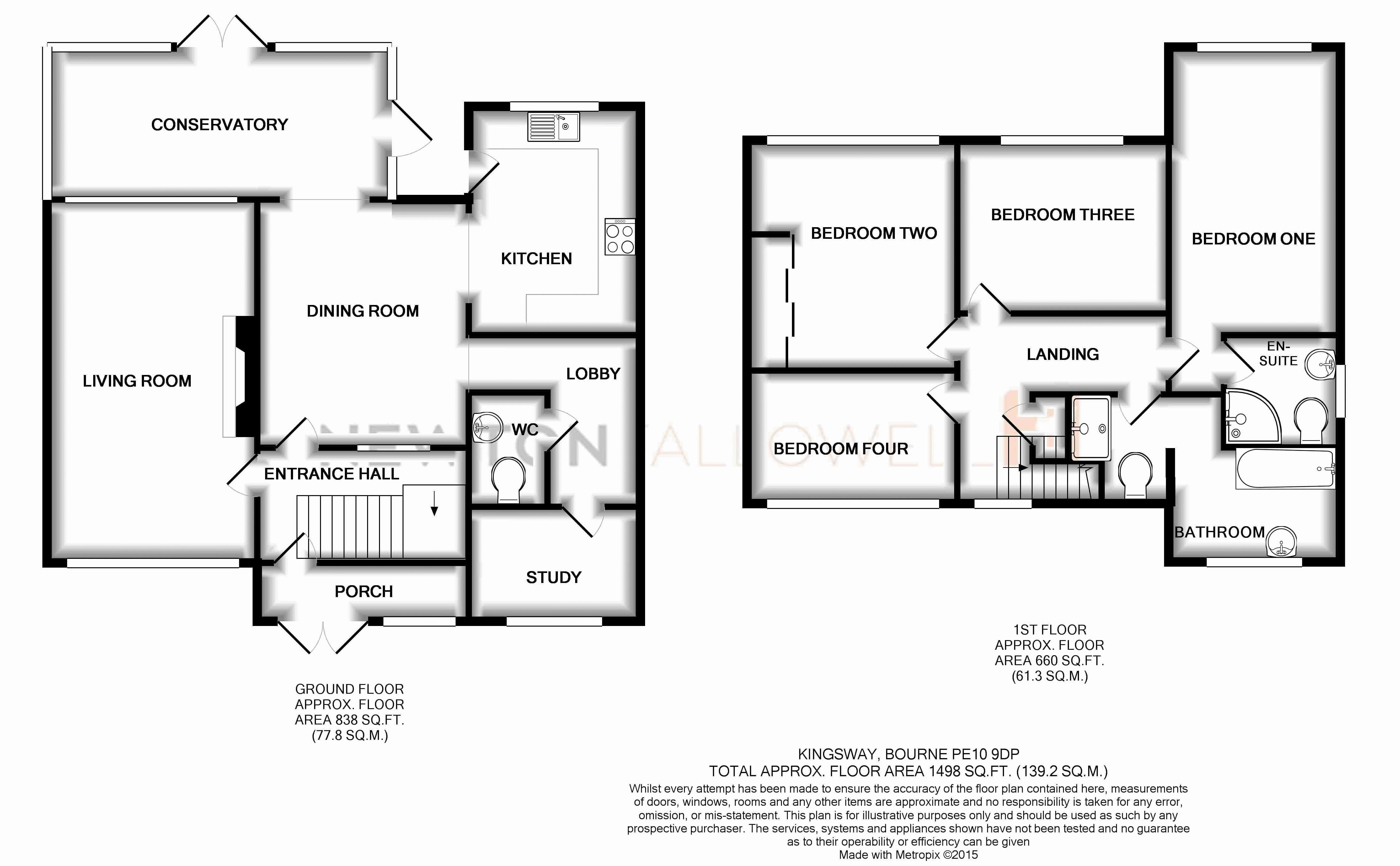4 bed semi detached house for sale in kingsway bourne pe10 36941563