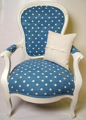 Polka Dotty Chair!
