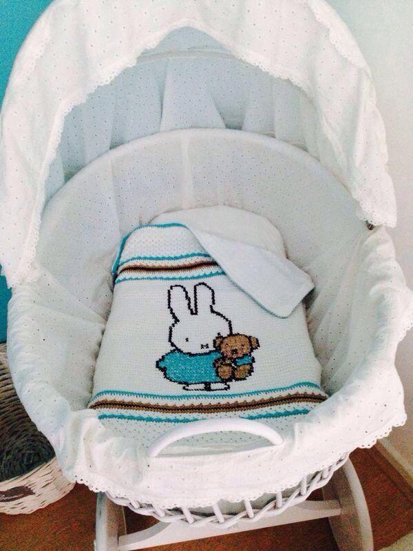 Nijntje deken | Babydeken | Pinterest | Bebe y Patrones