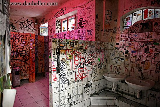 Bathroom Graffiti tti | graffiti-bathroom arts, bathrooms, budapest, europe