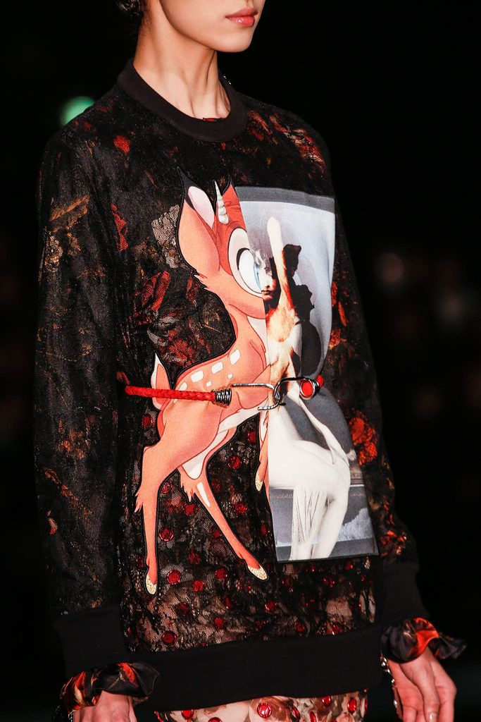 Givenchy Fall 2013. Bambi top of desire.