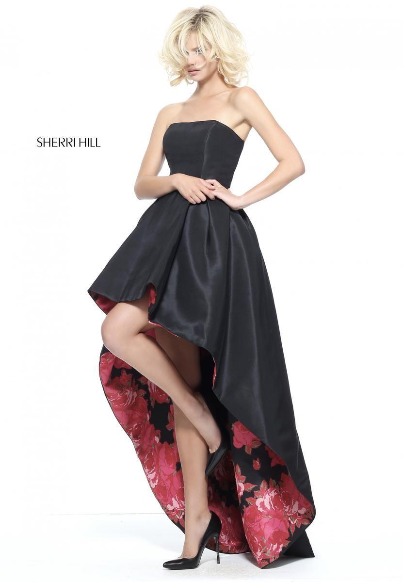 Sherri Hill Prom Dress 51160 High Low Prom Dresses Sherri Hill Prom Dresses Beautiful Dresses