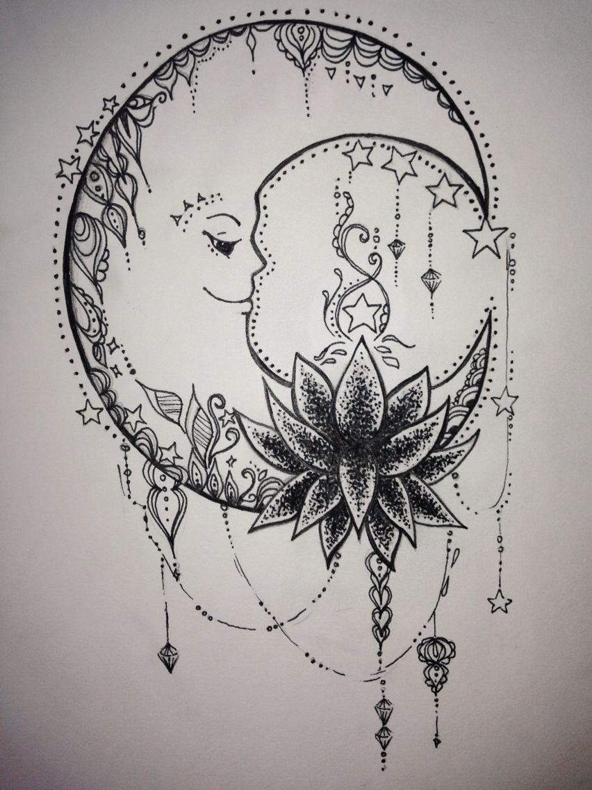 Ideas For A Tattoo Leg Tattoos Tattoos Moon Tattoo