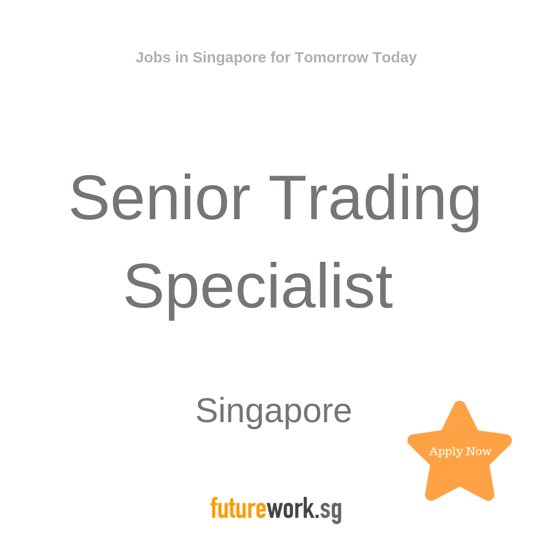 Senior Trading Specialist One Of The World S Most Recognised Leaders In Programmatic Is Expanding Their T Business Development Singapore Financial Institutions