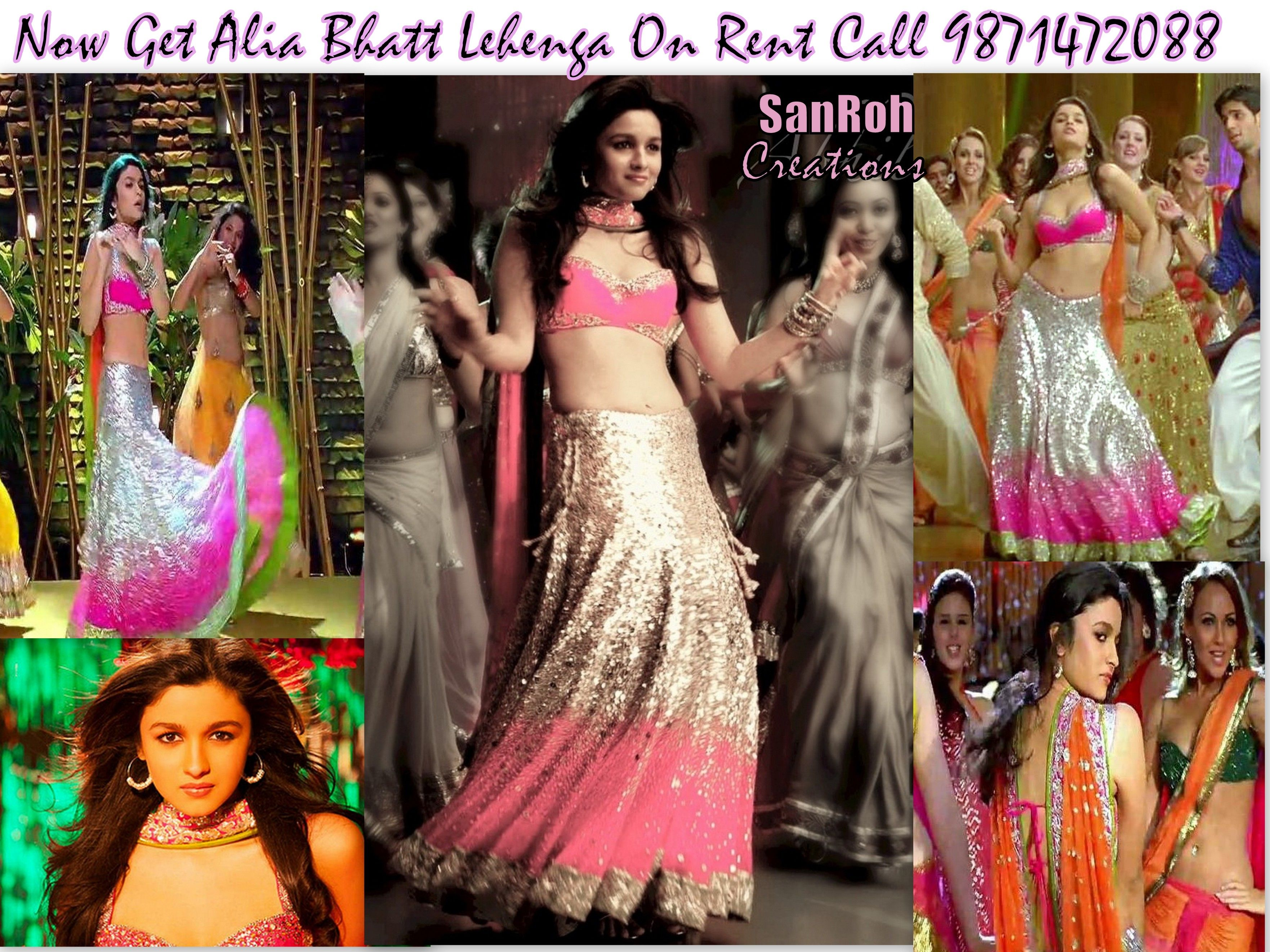 Alia Bhatt Lehenga From Student Of The Year Now Available On Rent Call 9871472088