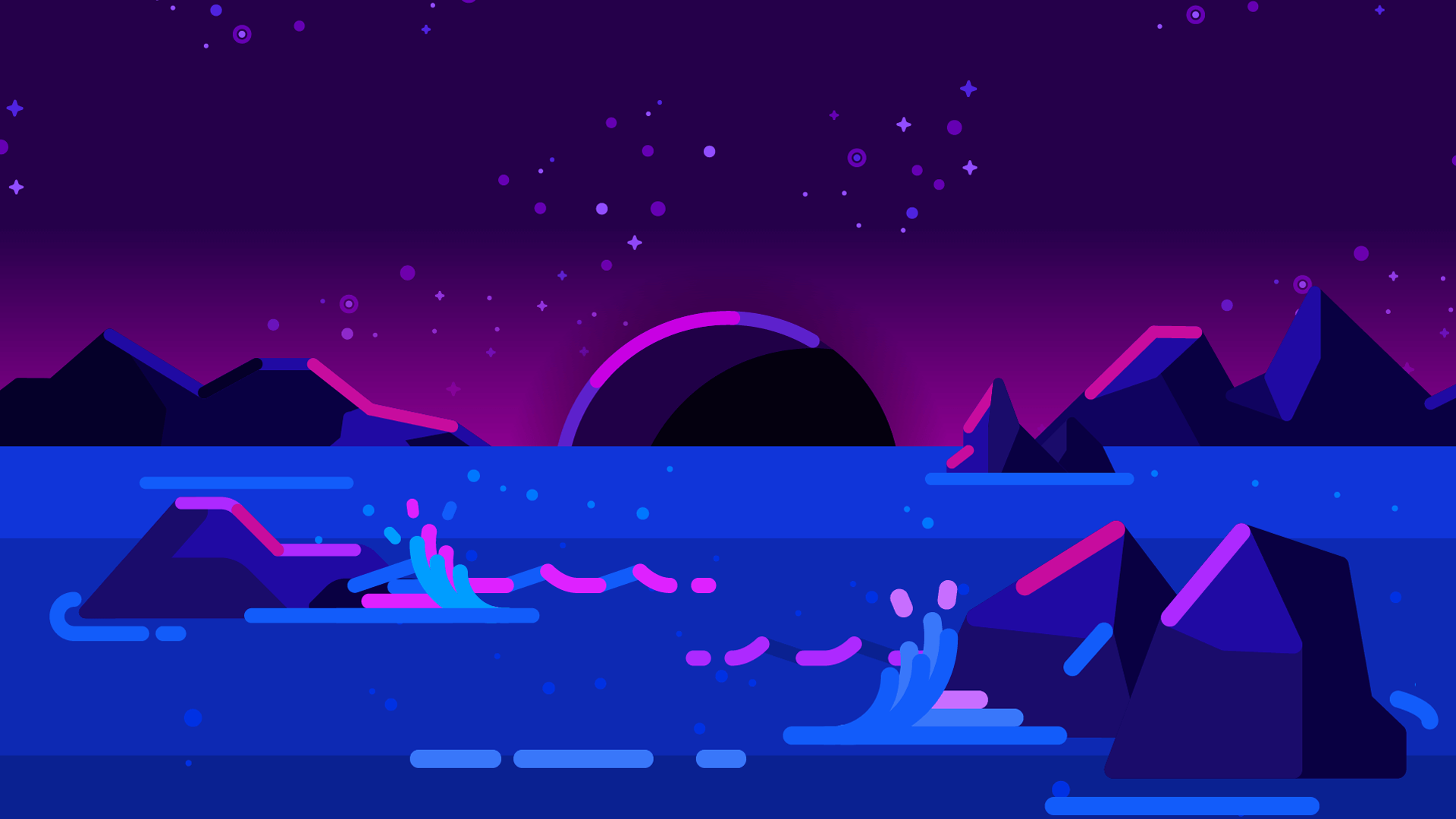 Wallpaper Minimalist Art By Kurzgesagt 1920x1080 In 2020 Desktop Wallpaper Art Vaporwave Wallpaper Computer Wallpaper Desktop Wallpapers