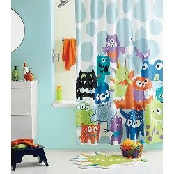 circo monsters shower curtain target
