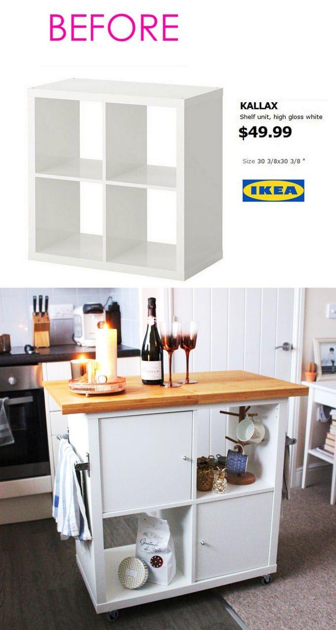 10 Projets Ikea à faire soi-même qui sont Grandioses ! #ikeaideen