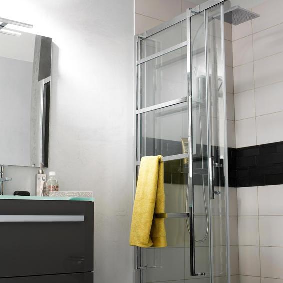 Towel Rack Wal Mounted Chrome Sensea Ulna Silver 145cm Leroy Merlin South Africa In 2020 Towel Rack Sensea Bathroom Radiators