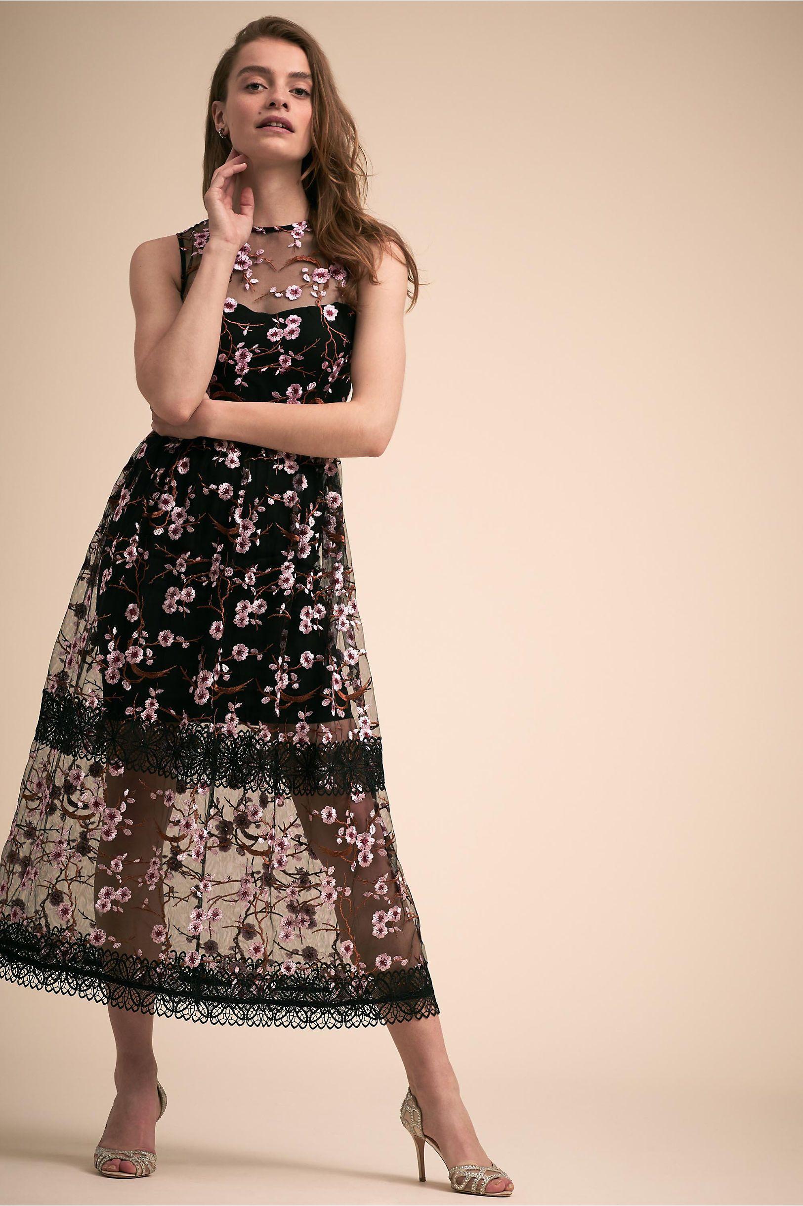 Sakura Dress Black Pink In New Amp Noteworthy