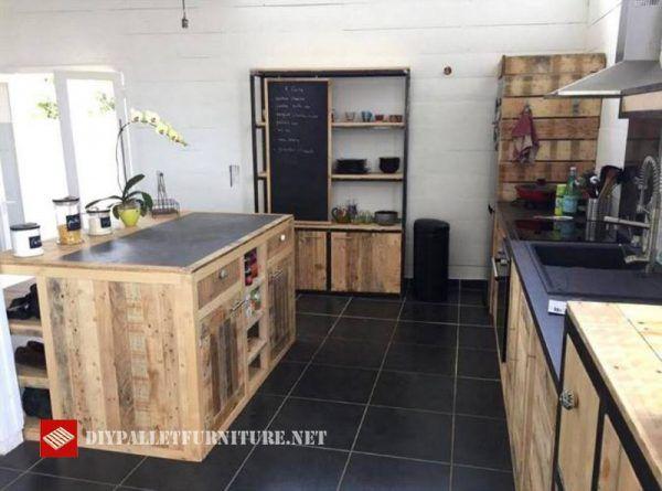 Diese Idee der Küche wurde im Internet gefunden, ist komplett gebaut - küchen mit granit arbeitsplatten