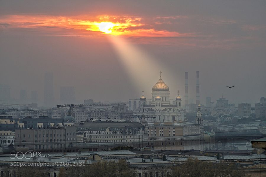 Moscow view by kostament #fadighanemmd
