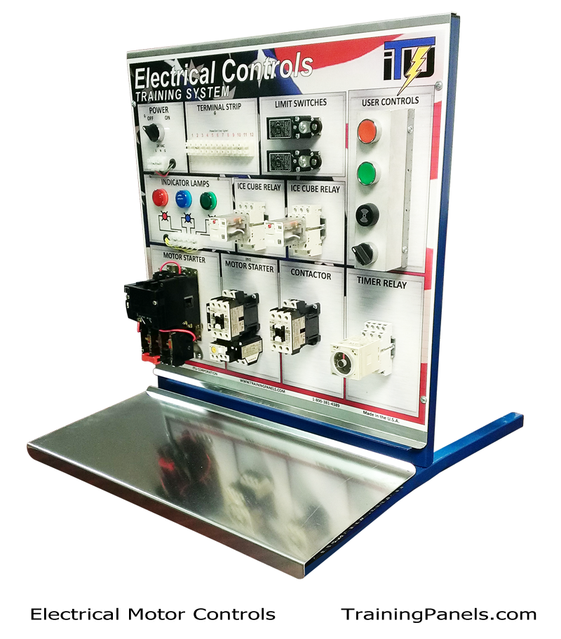 Electrical Motor Controls Training System. You can teach