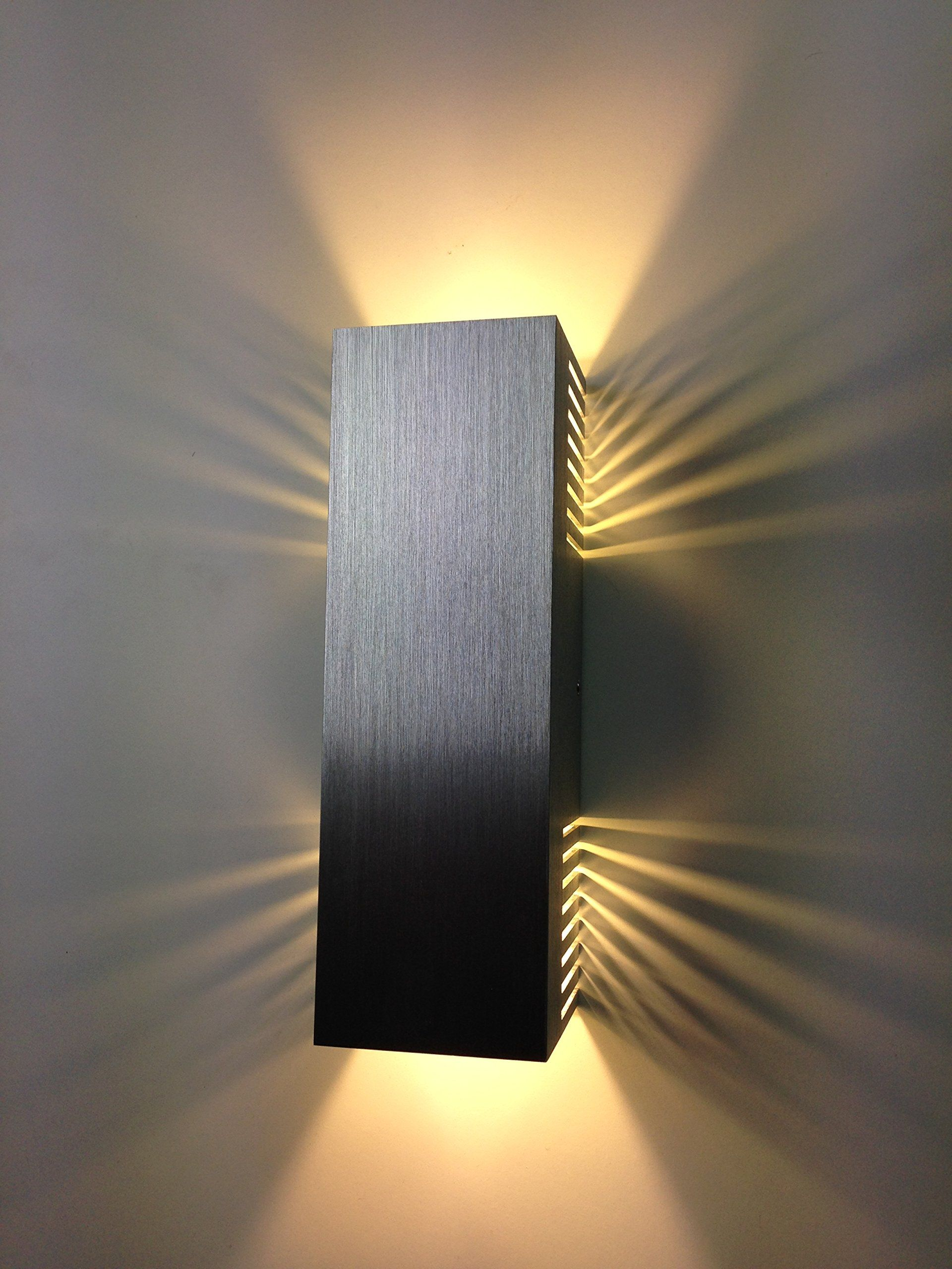 Spiceled wandleuchte shineled 14 2x7w warmwei 14w high - Wandlampe indirekte beleuchtung ...