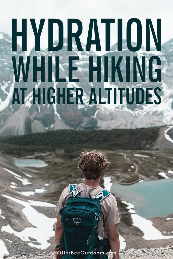 Hydration how to prevent dehydration while hiking