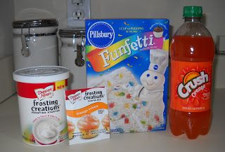 Call Me Cupcake!: Orange Crush Cakes