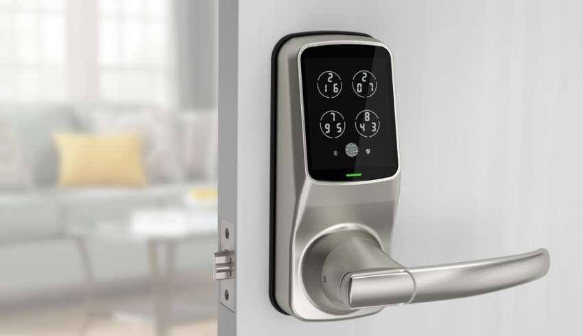 Top 10 Best Smart Door Locks 2020 Review Smart Door Locks Door Locks Smart Deadbolt