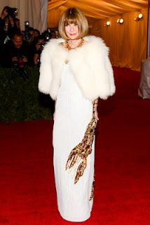 Anna Wintour in Prada - Met Ball 2012