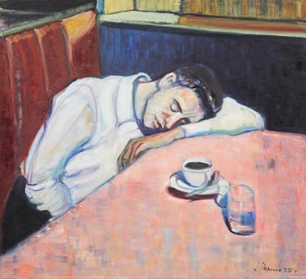 "Lusia Popenko: ""Sleeping"""