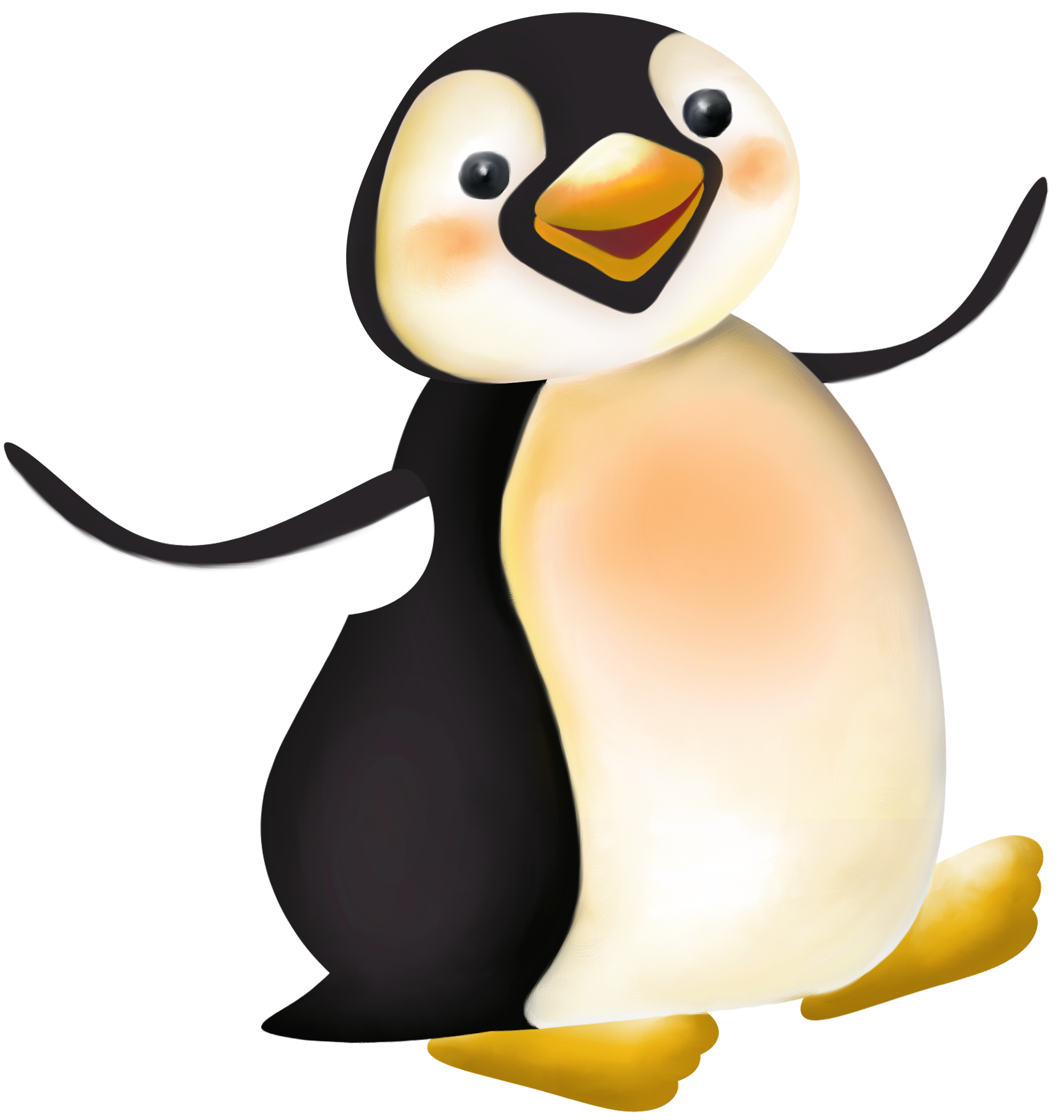 Large penguin cartoon png clipart penguins pinterest penguins large penguin cartoon png clipart voltagebd Choice Image