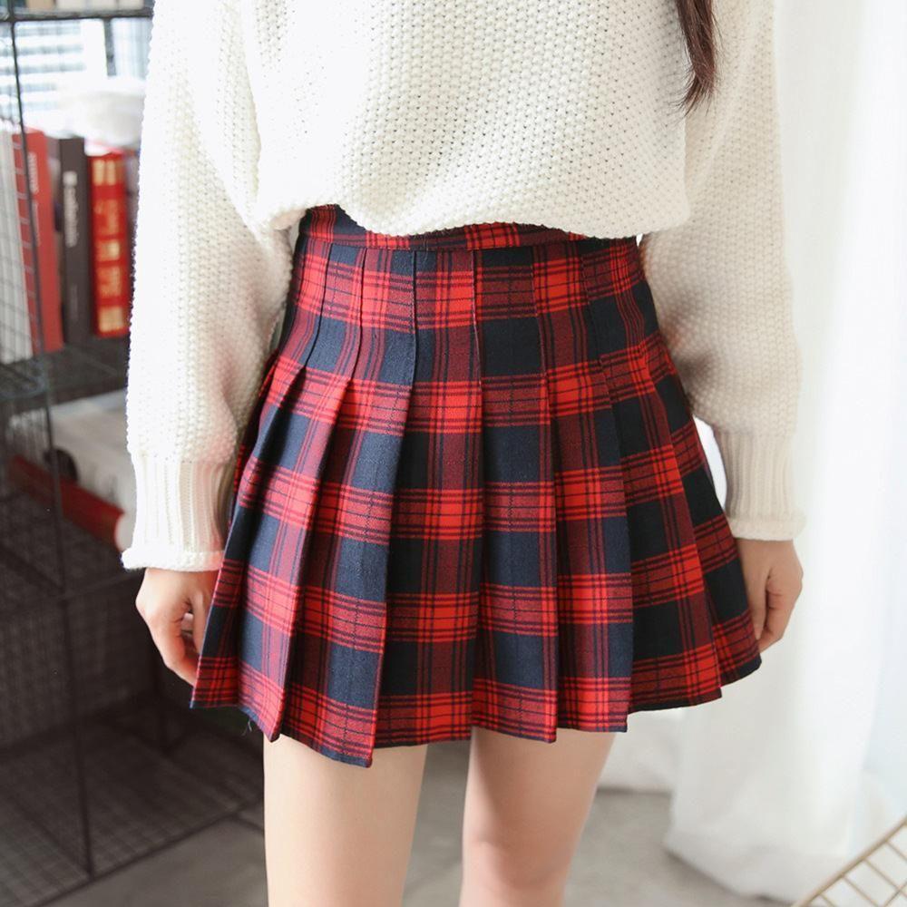Fashion week Pleated Black skirt tumblr for woman