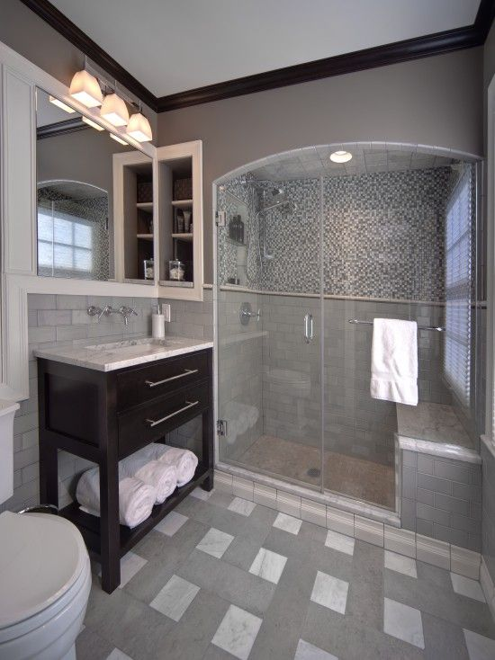 33 Sublime, Super Sized Showers You Should Begin Saving Up For | Houzz,  Grey Wall Tiles And Bathroom Designs
