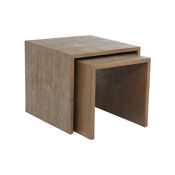 minimalist furniture indoor teak mahogany wooden furniture on exclusive modern nesting end tables design ideas very functional furnishings id=80241