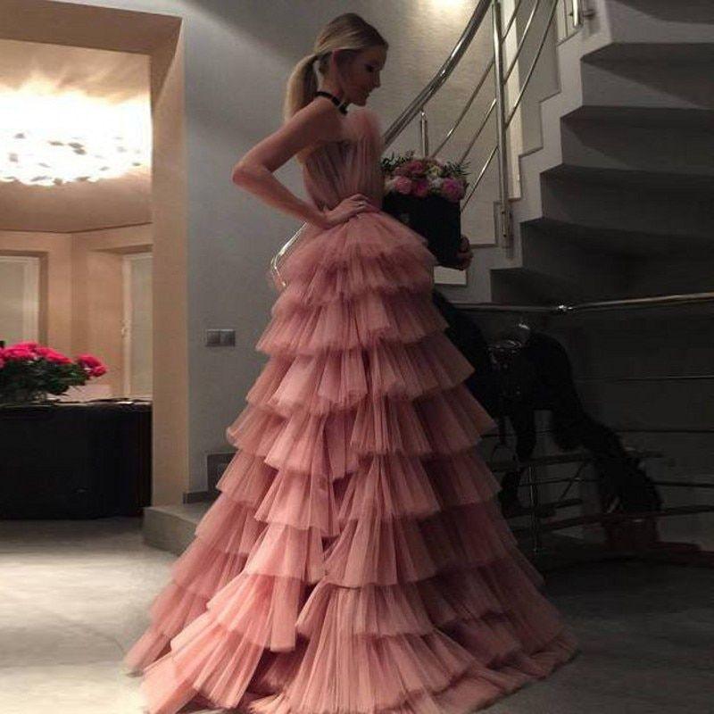 Günstige Abendkleider, Kaufen Sie direkt aus China Lieferanten: Princess Tiered Prom Ev …   – Dressy