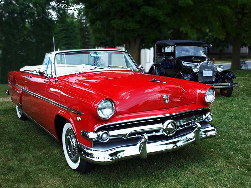 50 ford convertible 1954 ford customline convertible and. Black Bedroom Furniture Sets. Home Design Ideas