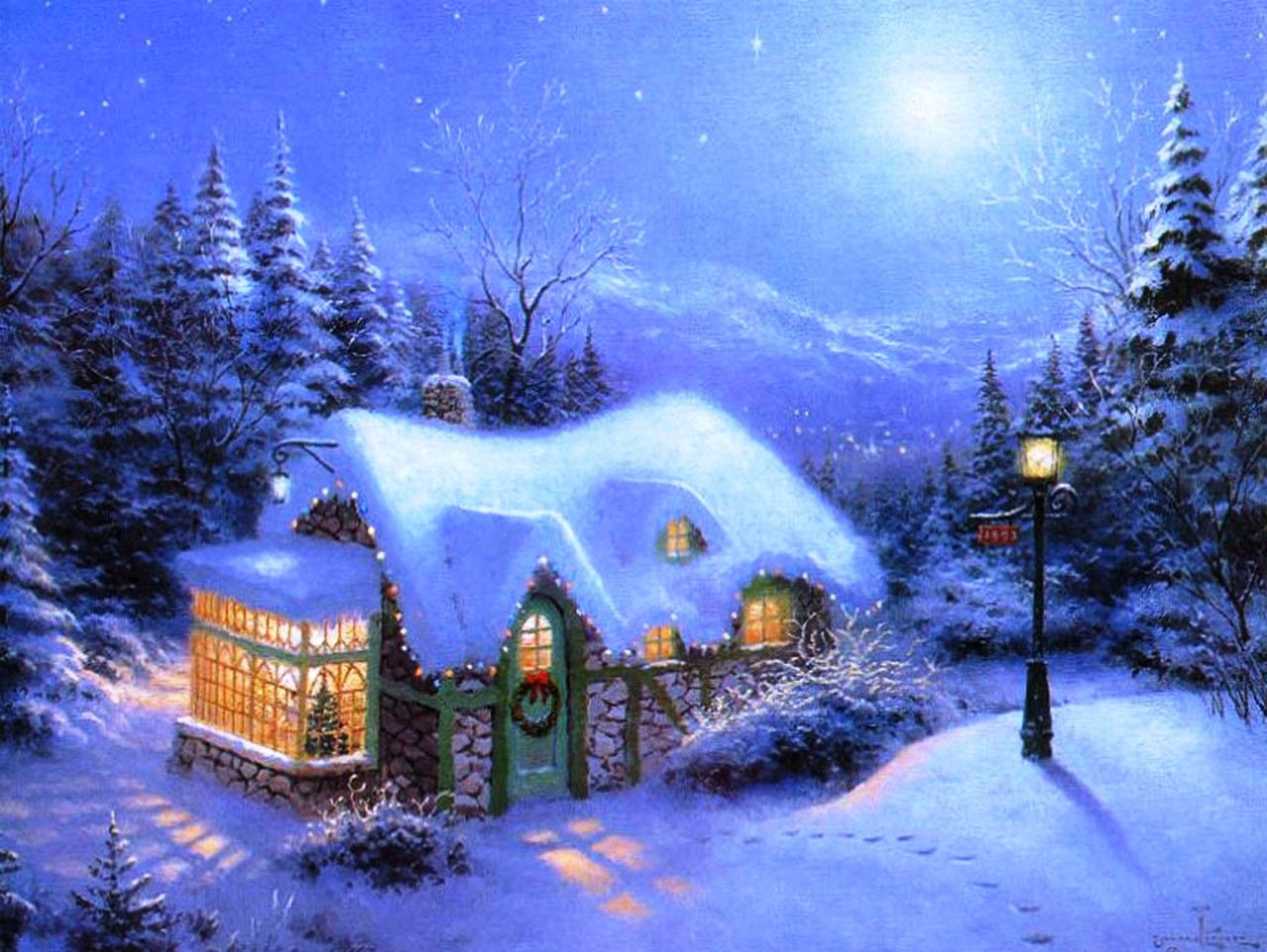 free christmas desktop themes - bing images | projects to try
