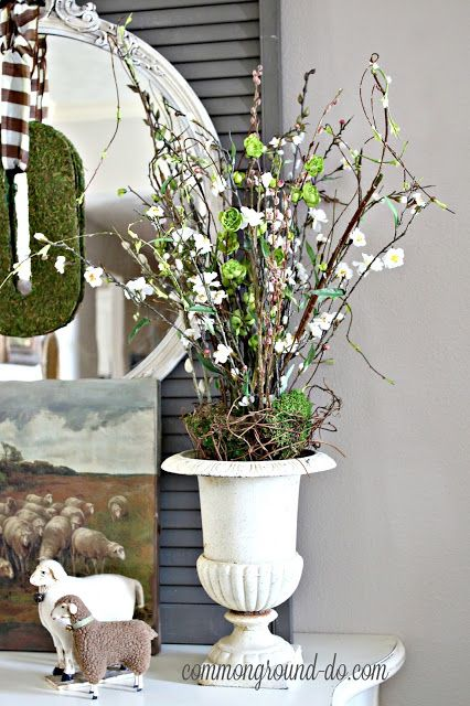 Urn Decorations For Spring Fair Common Ground  Entry Urn For Spring  Spring  Pinterest  Common Inspiration Design