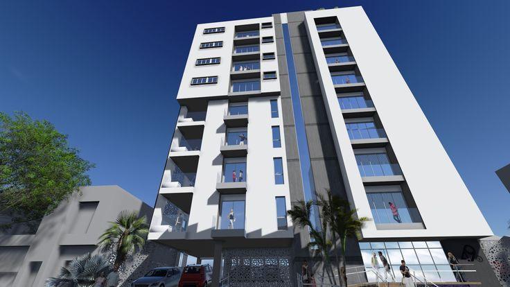 Lovely Modern Apartments, Building Facade, Facade Design, My Design, Buildings,  Searching, Contemporary Apartment