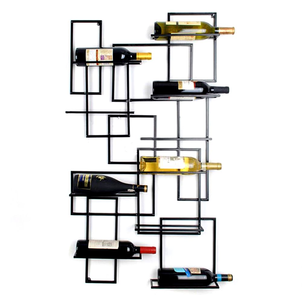 botella bastidores porta copa de vino soporte Home Bar Decor ...