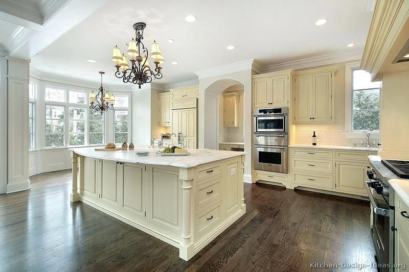 Image Result For Antique Cream Cabinets White Walls In