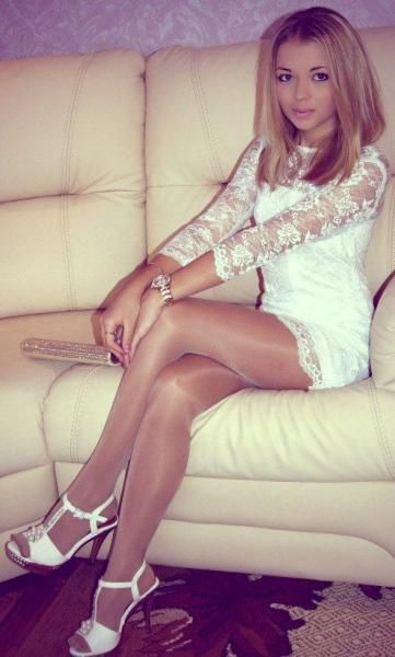 Crossdresser cutie pretty stockings and heels