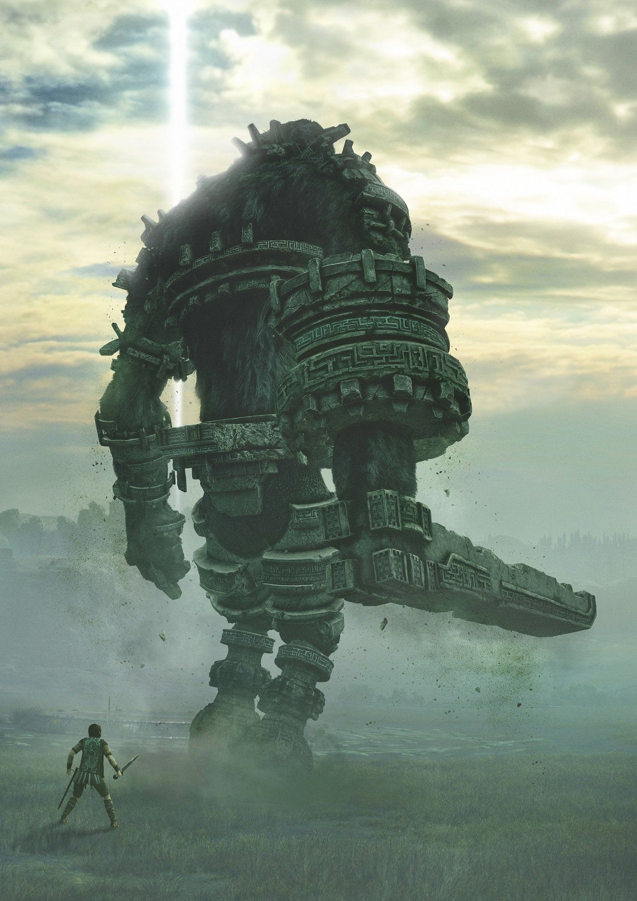 Shadow Of The Colossus Poster Shadow Of The Colosso Arte De
