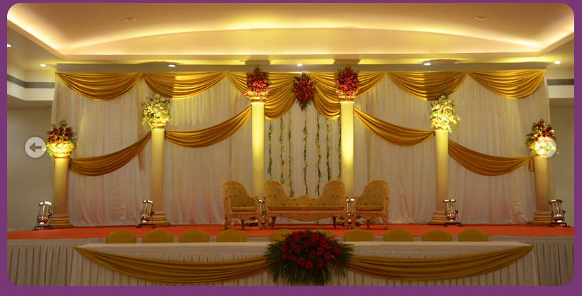 Outdoor Indian Wedding Stage Decorations Decoration