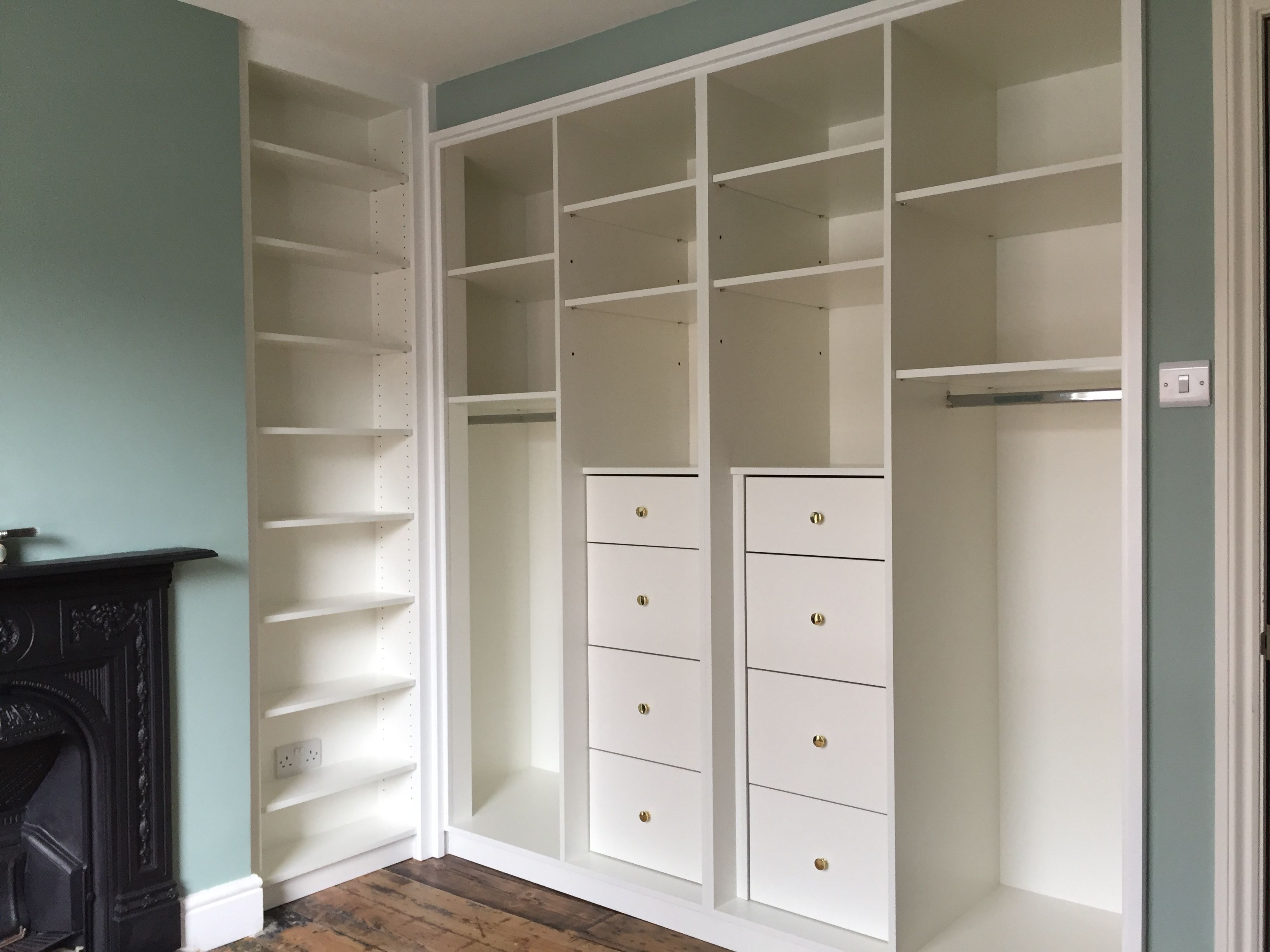Bespoke Wardrobes by Mark McEvoy Interiors Carpentry and