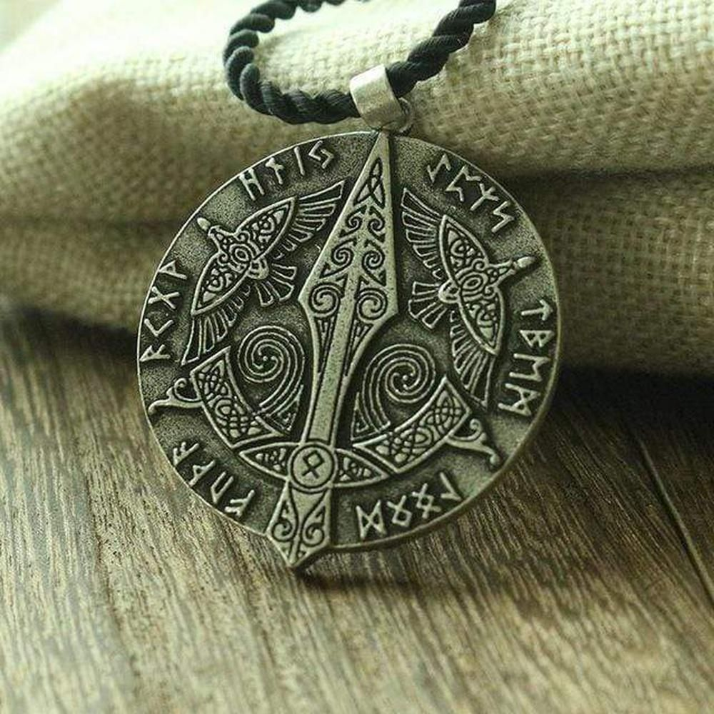 Stainless Steel Raven Pendant /& Necklace -- -- Pagan  Wiccan You Choose Chain! Witchcraft