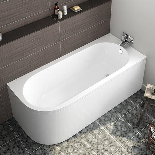 Photo of Model:1720-1700x725mm Corner Back to Wall Bath (Includes Panels) – Right Hand-Corner Bath-HOME&GARDEN Online Retailer