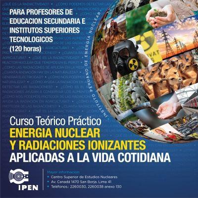 "Teresa Clotilde Ojeda Sánchez: Curso gratuito teórico práctico– ""Energía nuclear ..."