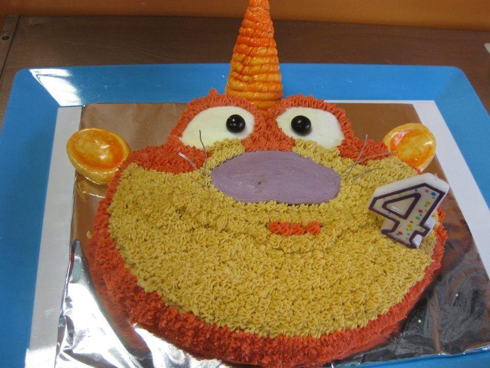 Gerbilcorn Cake Abby S Fairy Flying School On Sesame