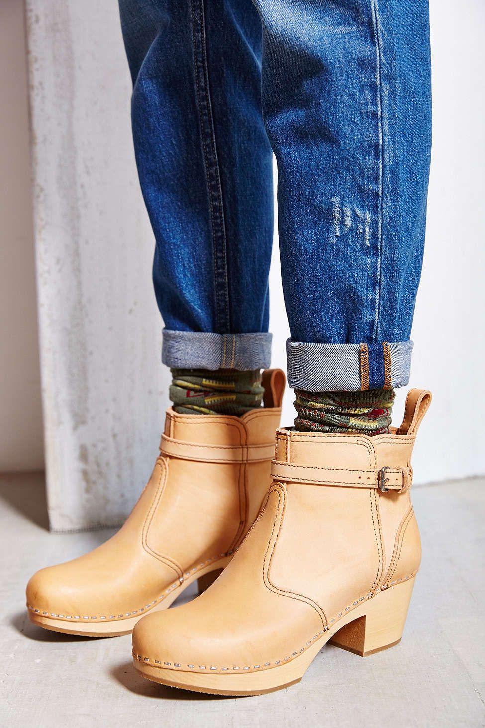 fb96843bd76 Swedish Hasbeens Jodhpur Boot - Urban Outfitters