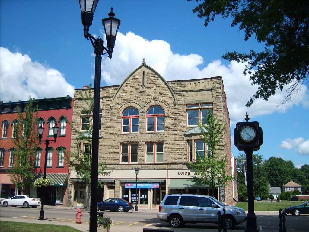 Gallipolis Ohio Oh Downtown Photo Picture Image At