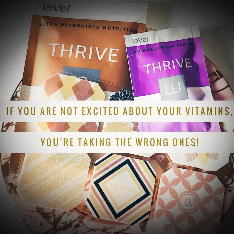 So glad I took a chance and started my Thrive Experience 2 years ago. If you knew how good you were supposed to feel, you wouldn't hesitate.