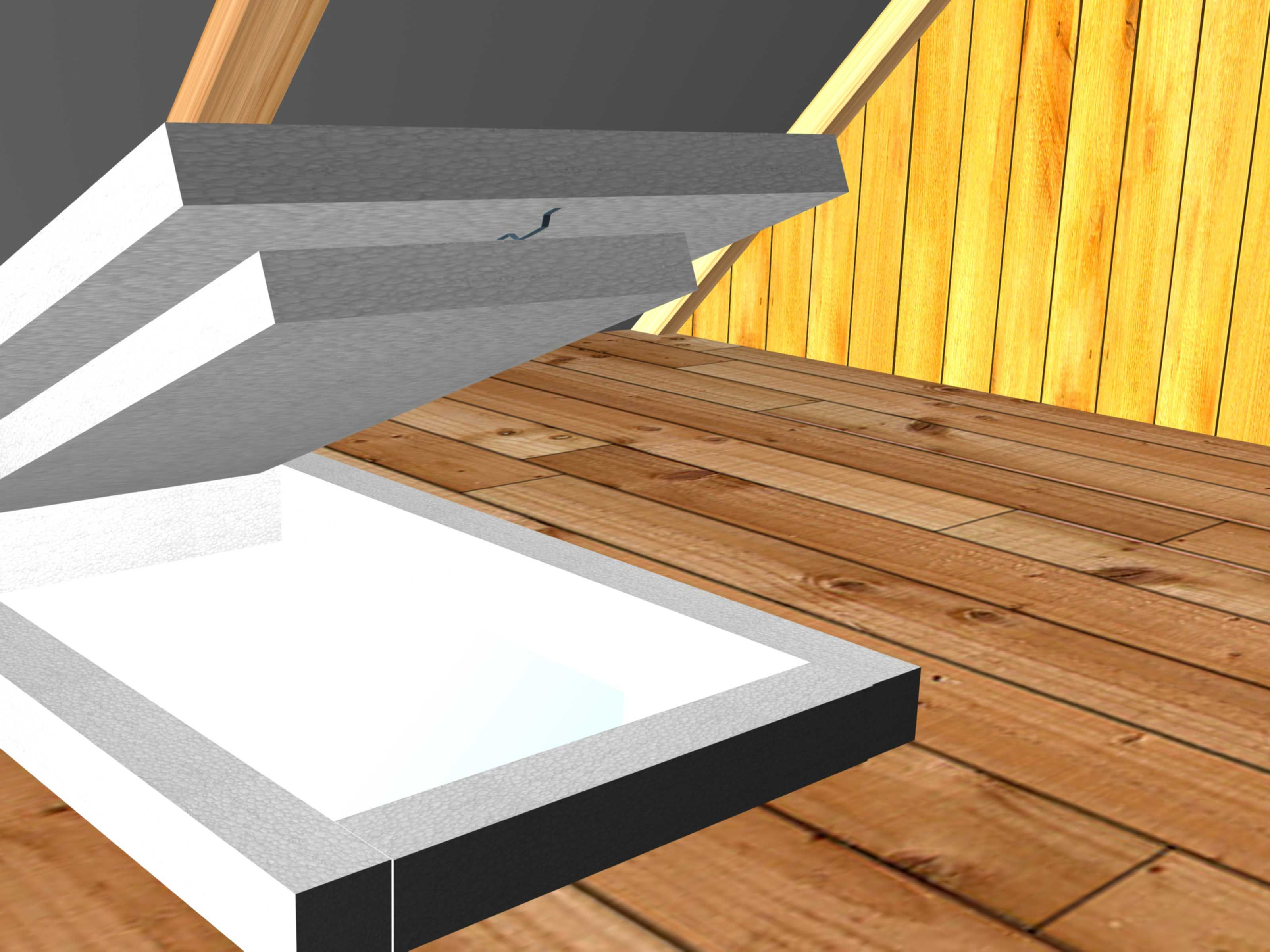 How To Insulate An Attic Door 8 Steps With Pictures Attic Doors Door Insulation Attic Door Insulation