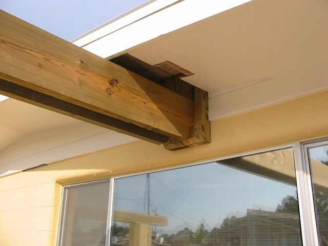 Image result for attach pergola to roof - Image Result For Attach Pergola To Roof Arbors Pinterest