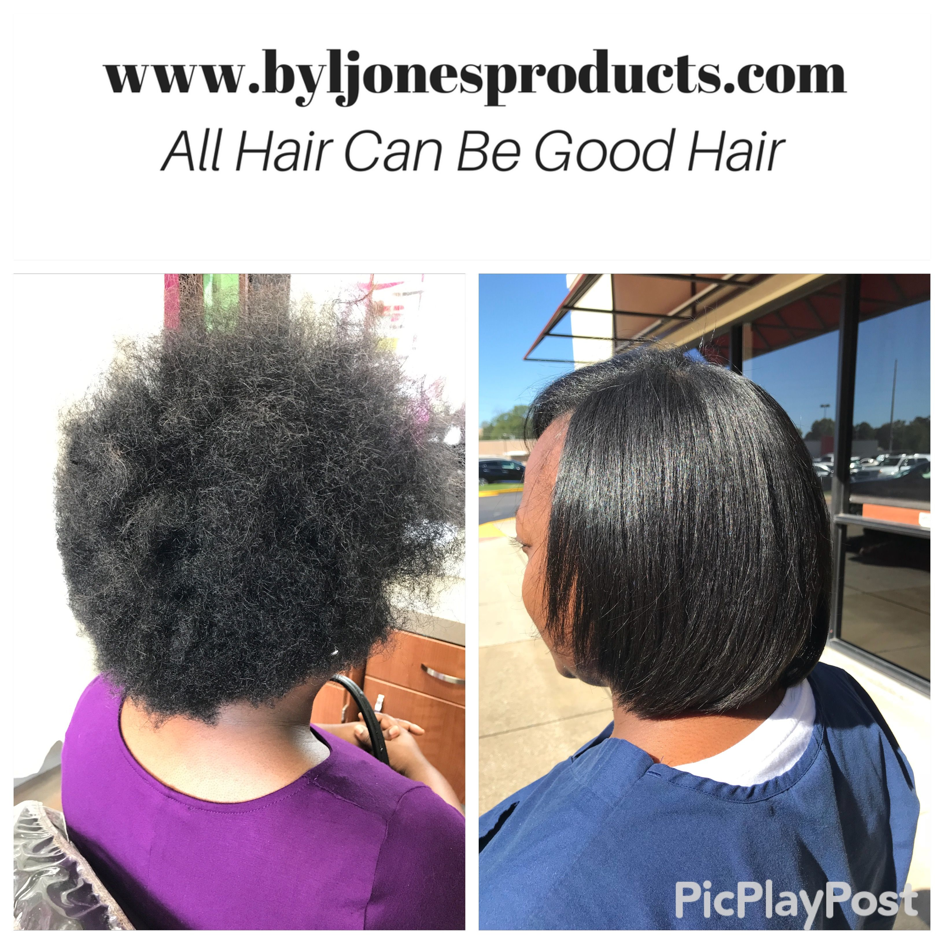 Before And After Brazilian Blowout On Natural Hair Maintained Using By L Jones Products Www Byljone Natural Hair Blowout Natural Hair Styles Cool Hairstyles
