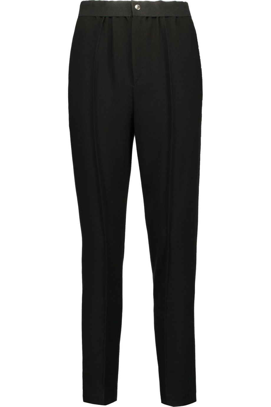 Shop on-sale Étoile Isabel Marant Mock crepe tapered pants. Browse other discount designer Pants & more on The Most Fashionable Fashion Outlet, THE OUTNET.COM